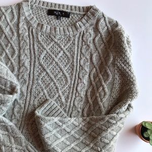 🍁 Green Cable Knit Sweater 🍁